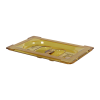 Amber 1/9 Food Pan Solid Cover with Molded Handle