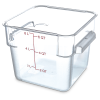 6 Quart Polycarbonate Space-Saver Storage Stor-Plus™ Container (Lid Sold Separately)