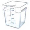 18 Quart Polycarbonate Space-Saver Storage Stor-Plus™ Container (Lid Sold Separately)