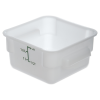 2 Quart Polyethylene Space-Saver Storage Stor-Plus™ Container (Lid Sold Separately)