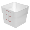 6 Quart Polyethylene Space-Saver Storage Stor-Plus™ Container (Lid Sold Separately)