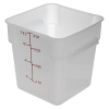 8 Quart Polyethylene Space-Saver Storage Stor-Plus™ Container (Lid Sold Separately)