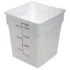 18 Quart Polyethylene Space-Saver Storage Stor-Plus™ Container (Lid Sold Separately)