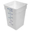 22 Quart Polyethylene Space-Saver Storage Stor-Plus™ Container (Lid Sold Separately)