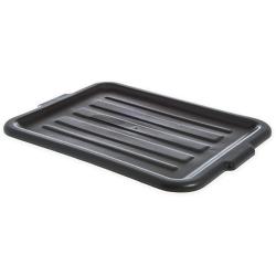 Black Comfort Curve™ Tote/Bus Box Lid