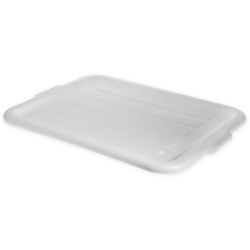 White Comfort Curve™ Tote/Bus Box Lid