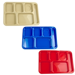Right Hand 6 Compartment Tray