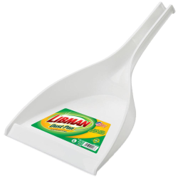 "10"" White Libman® Deep Well Dust Pan"