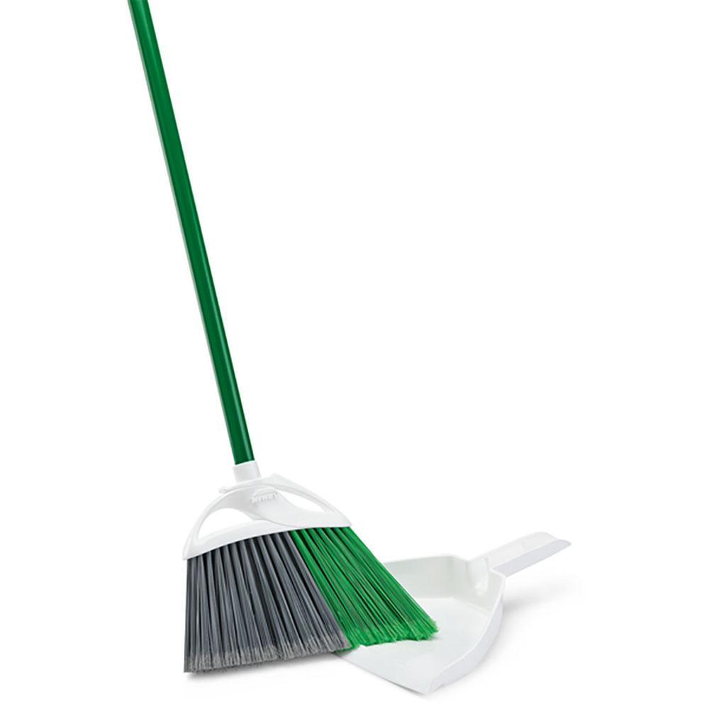 """11"""" Libman® Precision Angle® Broom with Dust Pan"""