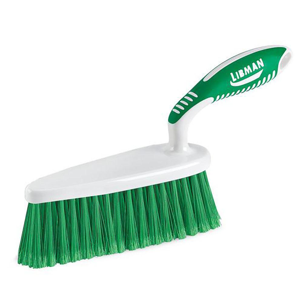 """2.5"""" x 7"""" Green/White Libman® Shaped Duster Brush"""