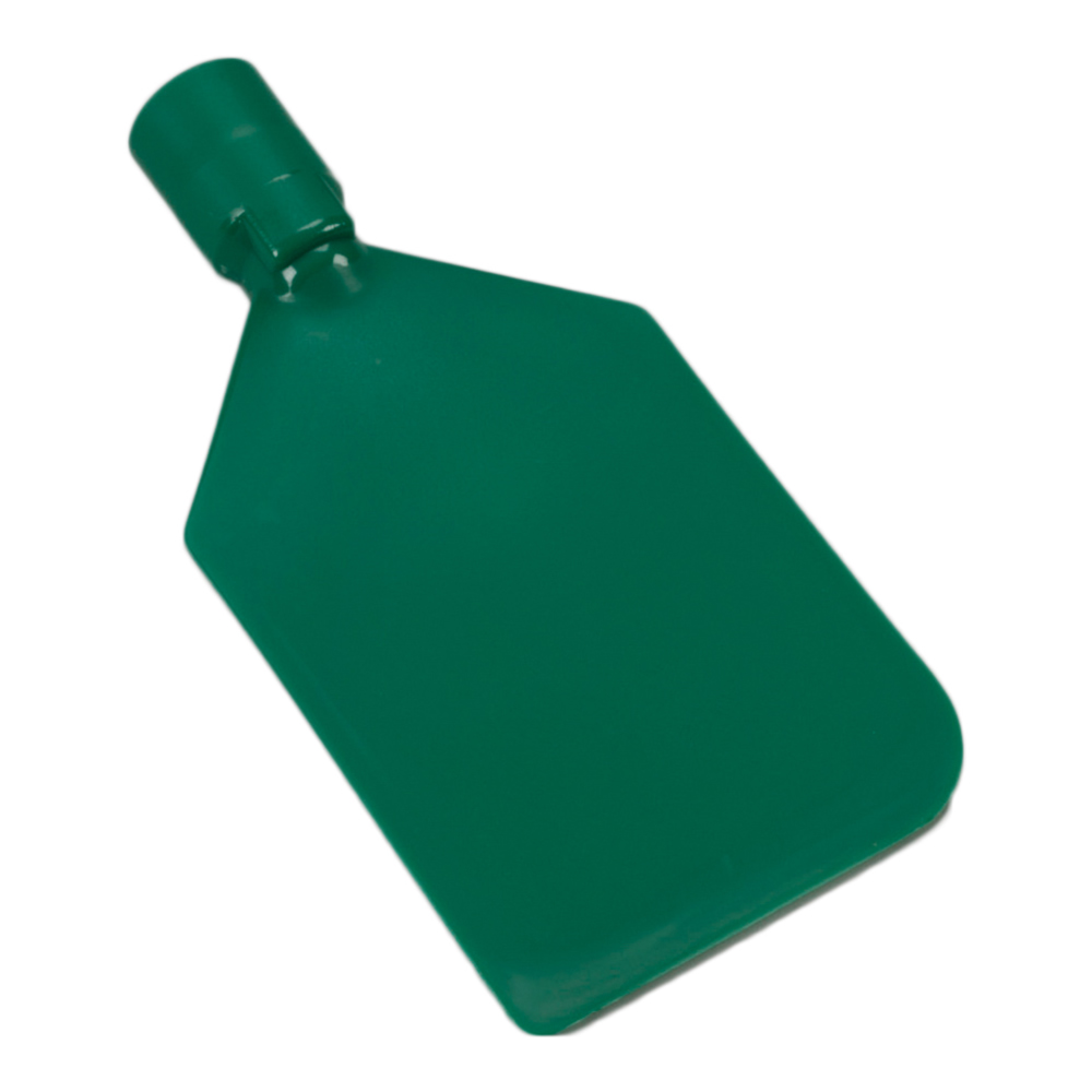 Green Vikan® Flexible PE Paddle Scraper