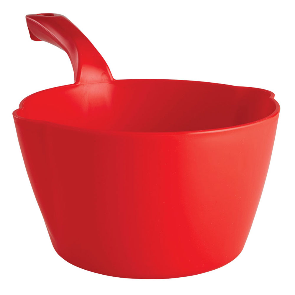 Red Large 64 oz. Bowl Scoop