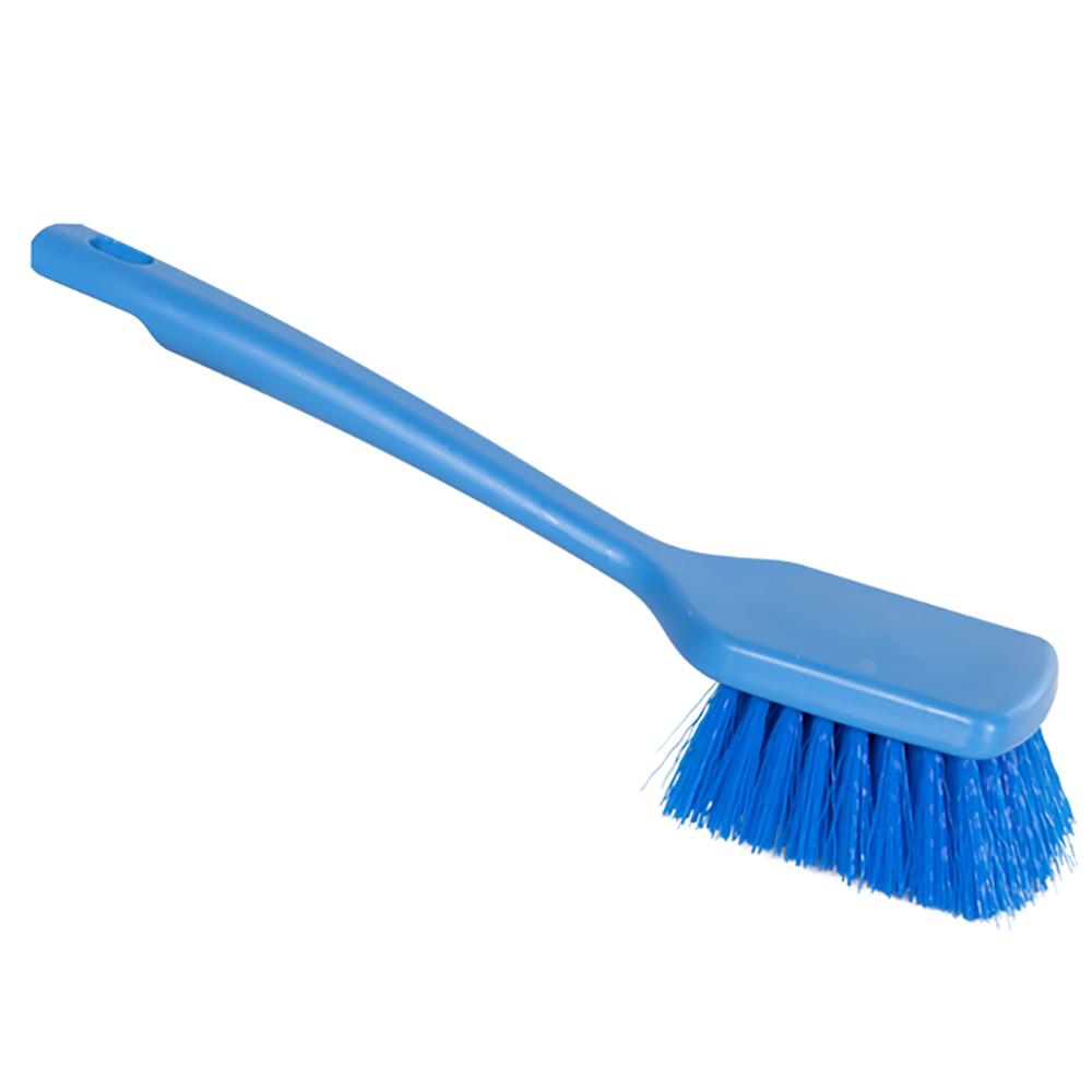"ColorCore Blue 12"" Short Handle Scrub Brush"