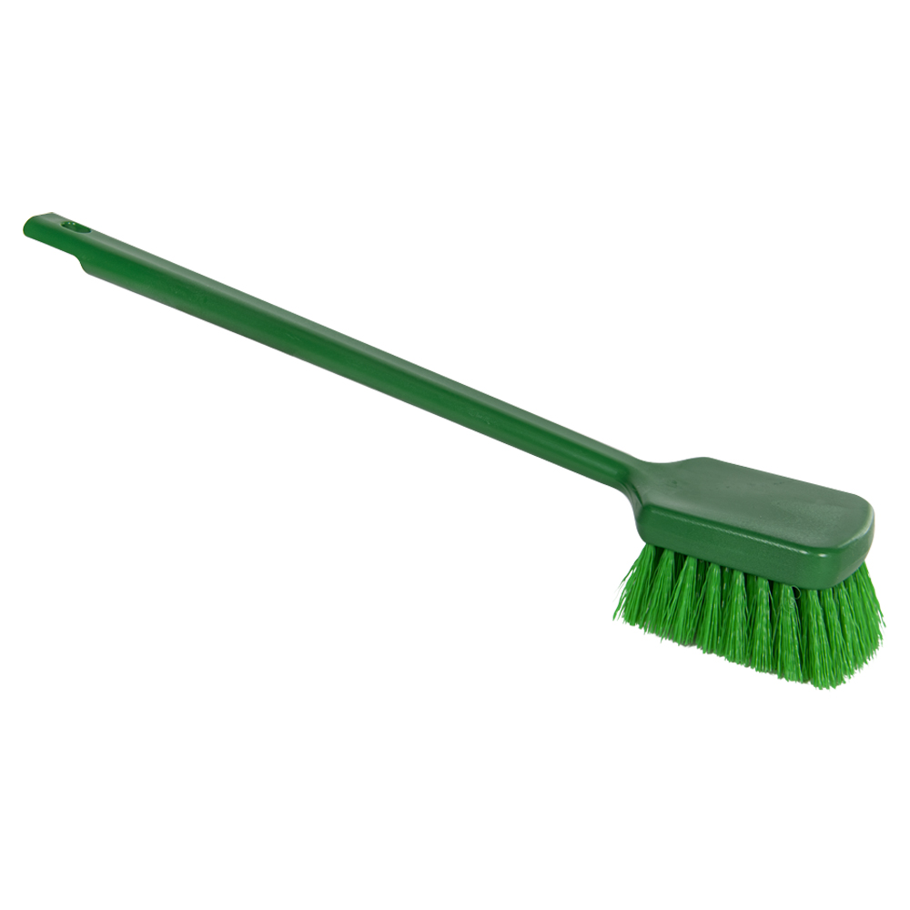 "ColorCore Green 20"" Long Handle Scrub Brush"