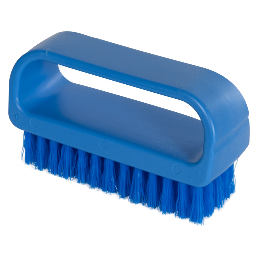 "ColorCore Blue 4"" Medium Nail Brush"