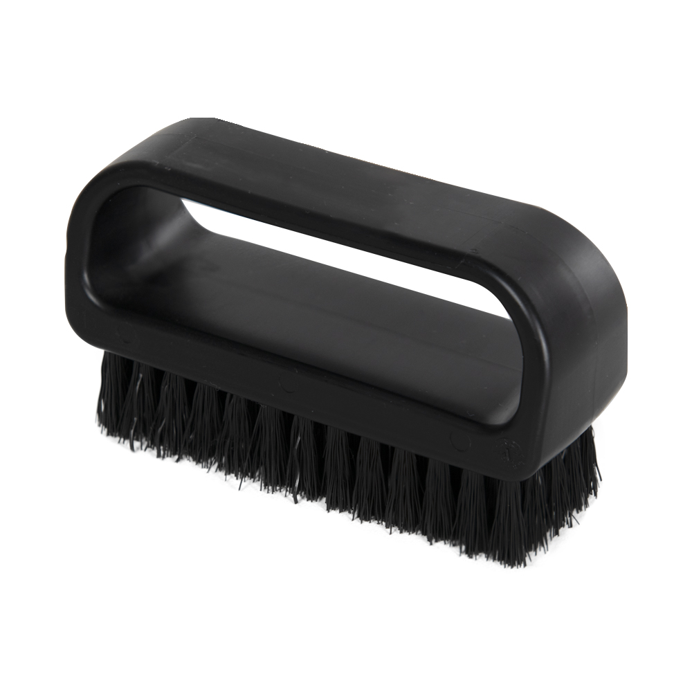 "ColorCore Black 4"" Medium Nail Brush"