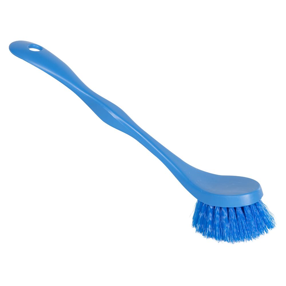 """ColorCore Blue 7"""" Medium Dish Brush"""
