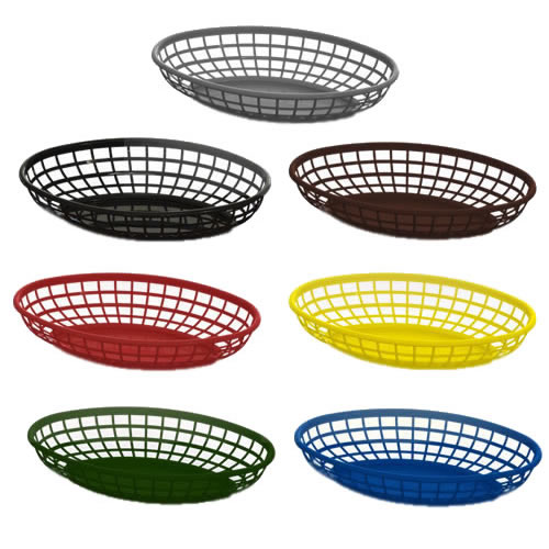 Oval Food Baskets