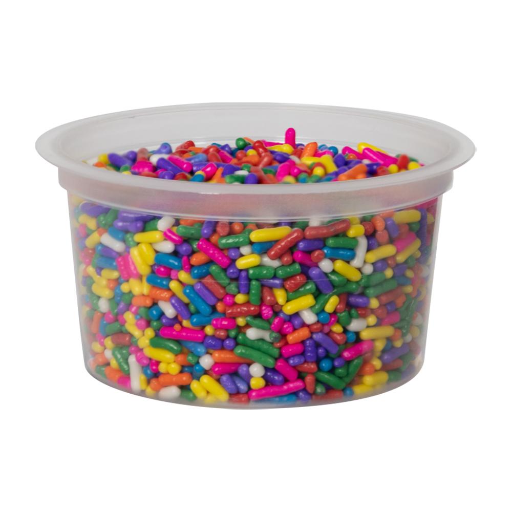 4 oz. Natural Polypropylene Portion Control Cup (Lid Sold Separately)