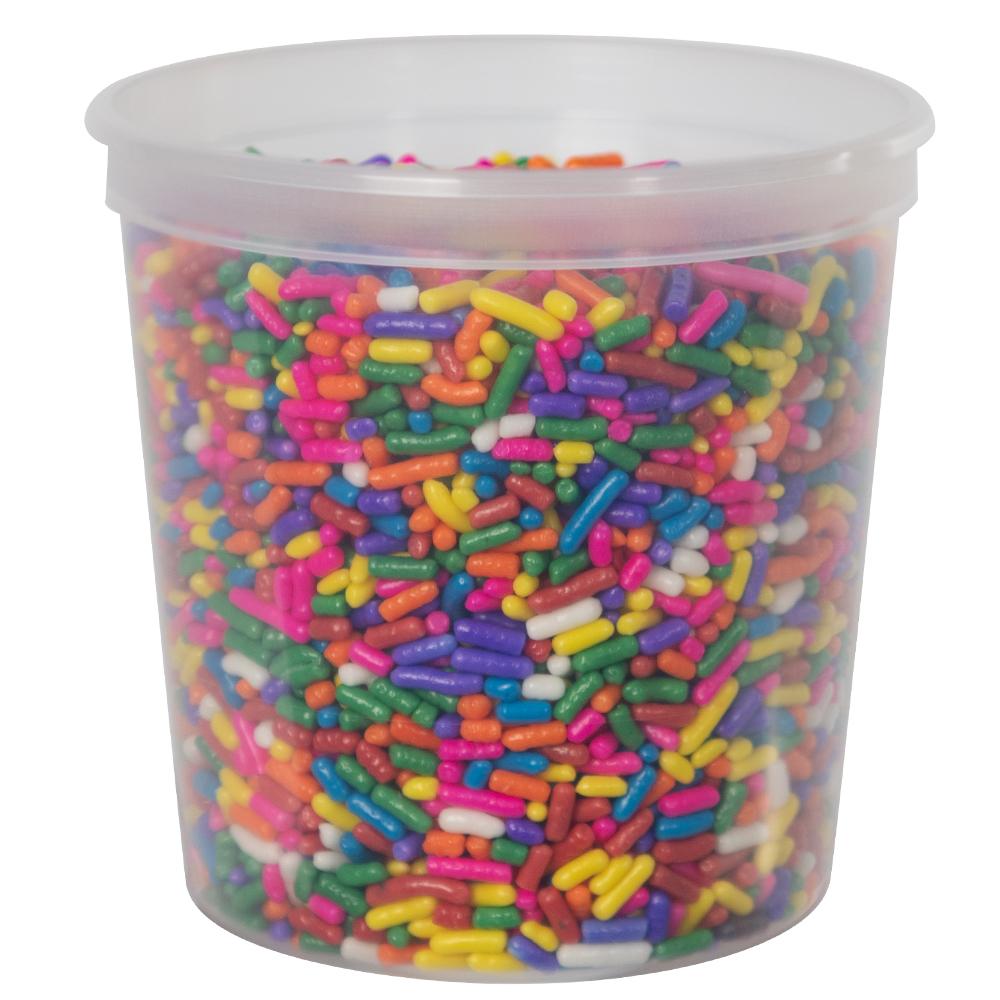 8 oz. Natural Polypropylene Portion Control Cup (Lid Sold Separately)