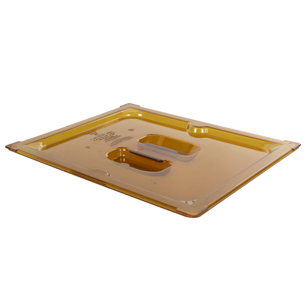 Amber 1/2 Food Pan Slot Cover for Spoon