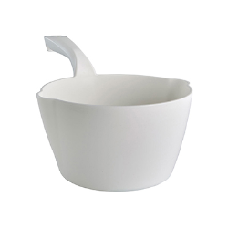 Vikan® White Large 64 oz. Bowl Scoop