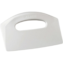 Remco® White Bench Food Scraper