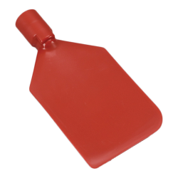 Red Vikan® Flexible PE Paddle Scraper