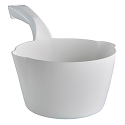 White Small 32 oz. Bowl Scoop