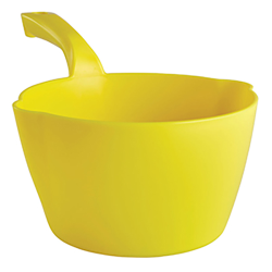 Vikan® Yellow Large 64 oz. Bowl Scoop