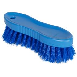 "Blue ColorCore 6"" Stiff Hand Brush"