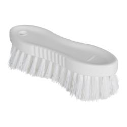 """White ColorCore 6"""" Stiff Hand Brush"""