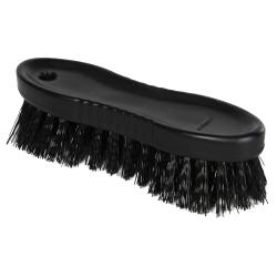 "Black ColorCore 6"" Stiff Hand Brush"