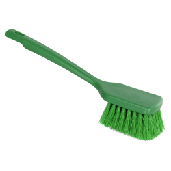 "ColorCore Green 12"" Short Handle Scrub Brush"