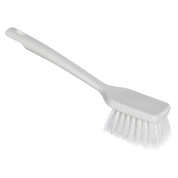 "ColorCore White 12"" Short Handle Scrub Brush"