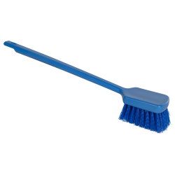 "ColorCore Blue 20"" Long Handle Scrub Brush"