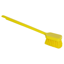 "ColorCore Yellow 20"" Long Handle Scrub Brush"