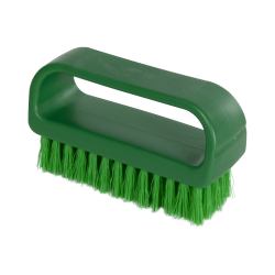 "ColorCore Green 4"" Medium Nail Brush"