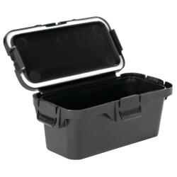 18 Dram Black Polypropylene Micro Child-Resistant Container