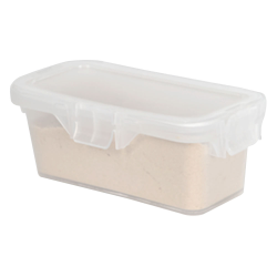 18 Dram Clear Polypropylene Micro Child-Resistant Container
