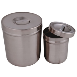 Stainless Steel Dressing Jars with Lids