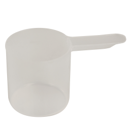 70cc Natural Polypropylene Scoop