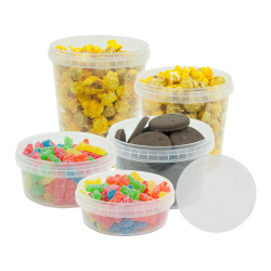 SafeLock® Polypropylene Containers & Lids