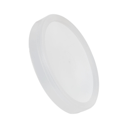Natural LLDPE L410 Round Long Skirted Lid