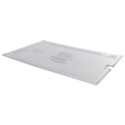 Clear Full Food Pan Slot Cover for Spoon