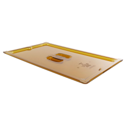 Amber Full Food Pan Slot Cover for Spoon