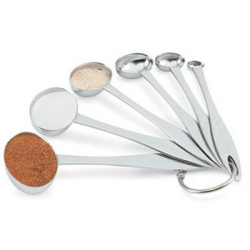 Six-Piece Oval Measuring Spoon Set