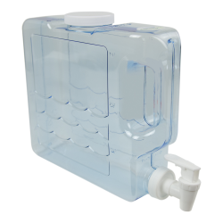 3 Quart Clear Compact Beverage Container