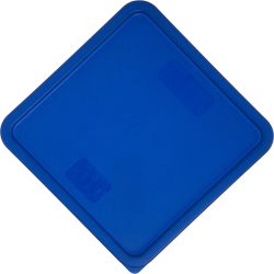 Blue Lid for Square 12 Quart to 22 Quart Stor-Plus™ Containers (Container Sold Separately)