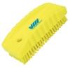 Yellow Nail Brush w/Stiff Bristles